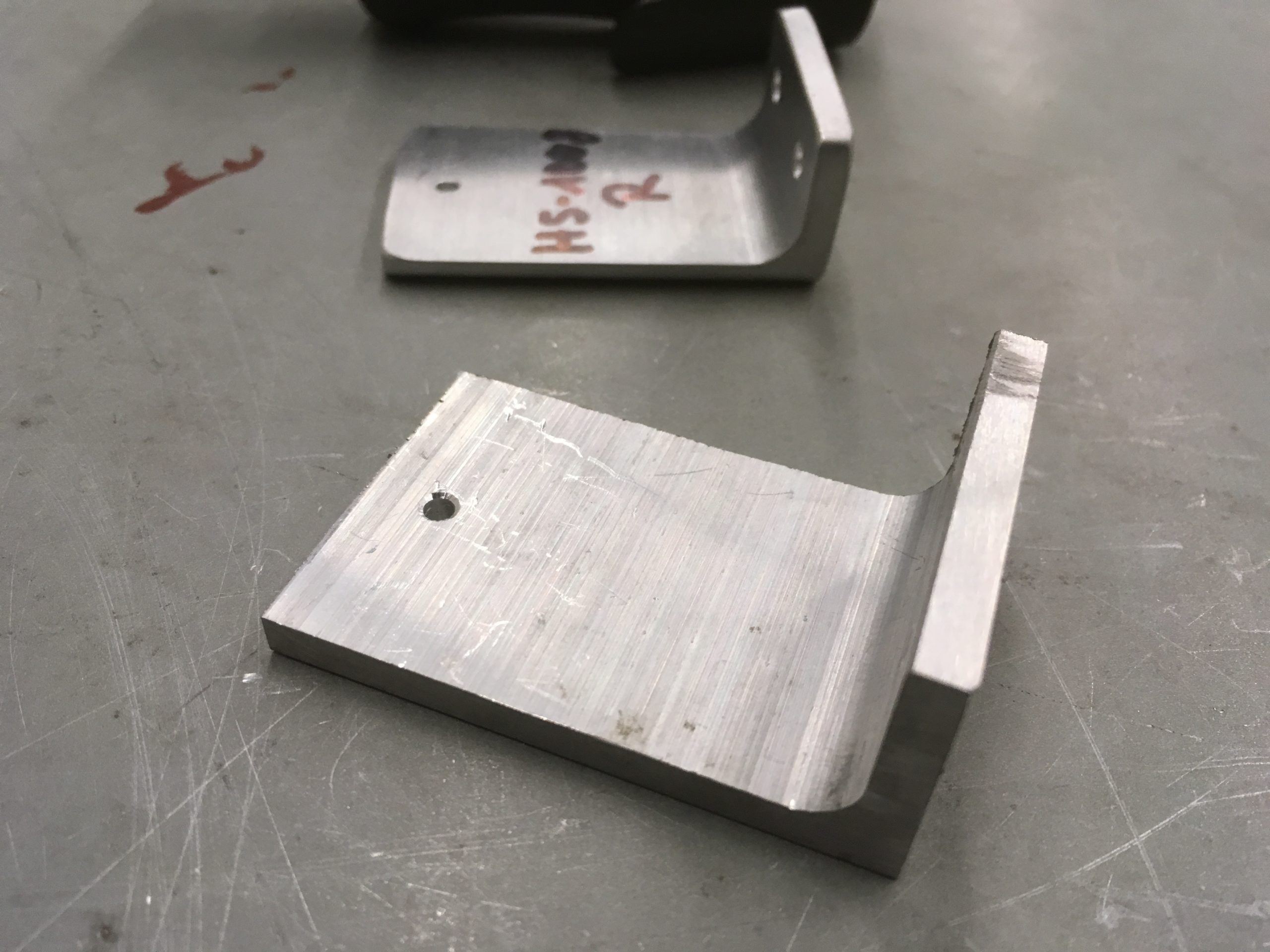 Building the HS attachment brackets