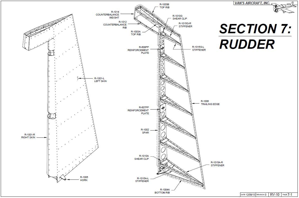 Section 07 Rudder (finished)